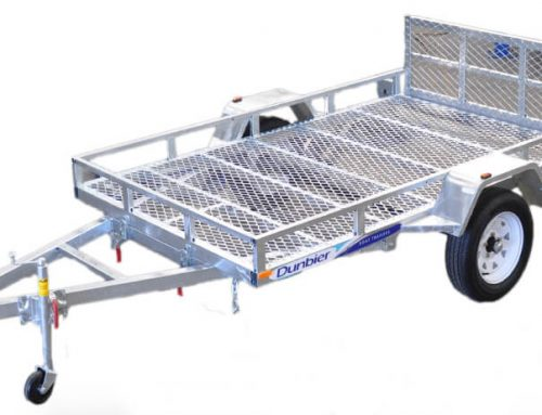 Dunbier ATV Trailers in sizes 8×5 & 9×5 Available.